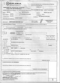 Certificado de fabrica