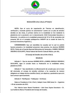 Resolución 01012.