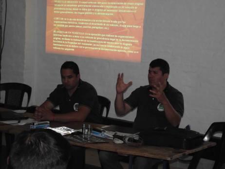 Cristian Portillo y Fabricio Abasto