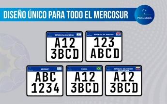 Chapa Patente Motovehiculo